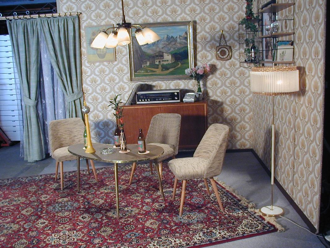 stunning 70er jahre deko images. Black Bedroom Furniture Sets. Home Design Ideas